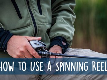 Spinning Reel Using Guide